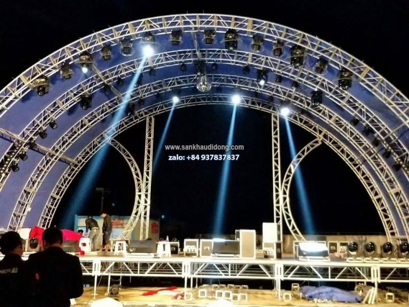 Dàn dựng sân khấu, thi công sân khấu sự kiện