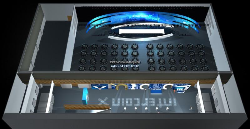 Thiết kế sân khấu 2D, 3D: sự kiện. ca nhạc, lễ hội