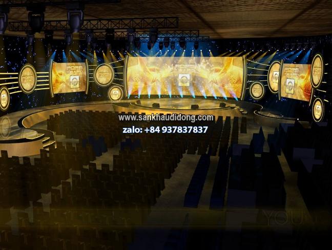 Sản xuất sân khấu lắp ghép tổ chức sự kiện
