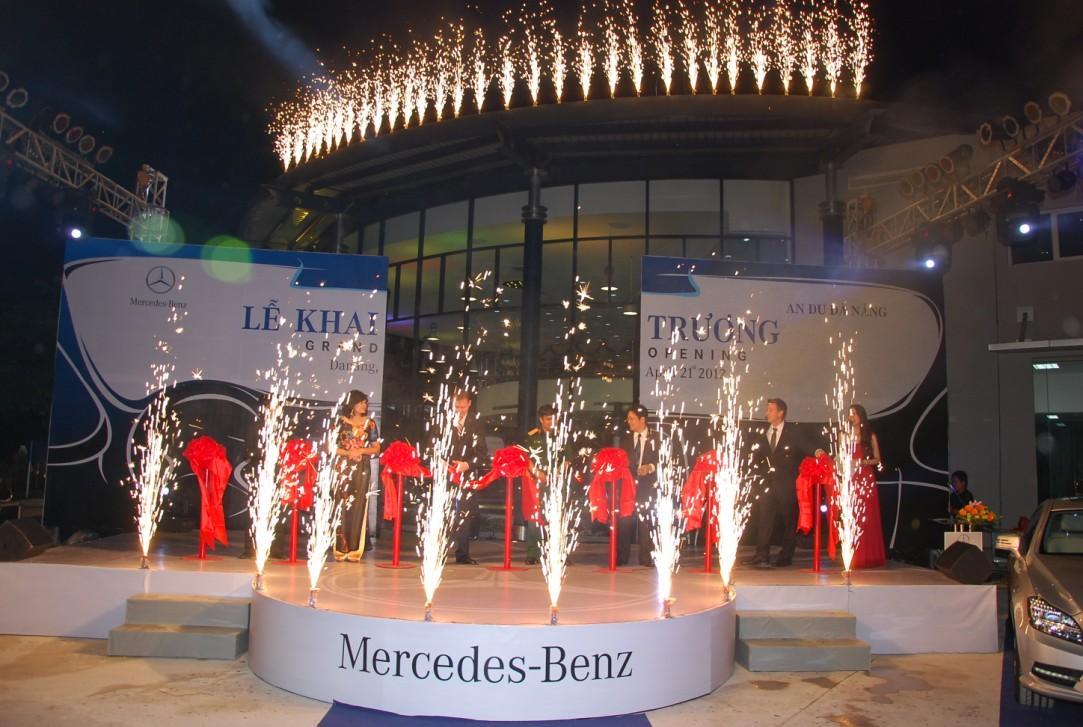 Lễ khai trương Mercedes-Benz An Du Autohaus Đà Nẵng