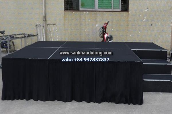 Chuyên sản xuất sân khấu lắp ráp ghép di động